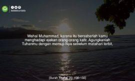 Tadabbur Thaha ayat 130-132 l The most beautiful Quran Recitation