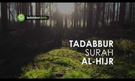 Tadabbur Surah Al Hijr l The most beautiful Quran Recitation