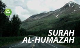Tadabbur Surah Al-Humazah