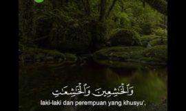 MasyaAllah Tadabbur Surah Al-Ahzab ayat 35