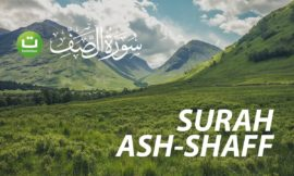 MasyaAllah suara sangat merdu – Tadabbur Surah Ash-Shaff