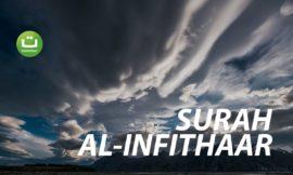 Surah Al-Infithaar Full Terjemah – Raad Muhammad Al Kurdi