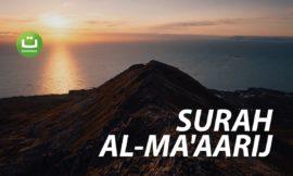 Surah Al-Ma'aarij Full Terjemah – Abdul Rahman Al Ossi