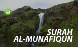 Surah Al-Munafiqun Full Terjemah – Abdurrahman al-Majid