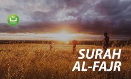 Tadabbur Surah Al-Fajr – Abu Usamah Syamsul Hadi