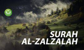 Surah Al-Zalzalah سورة الزلزلة – Abu Usamah Syamsul Hadi
