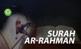 Tadabbur Surah Ar-Rahman – Ahmad alNufais