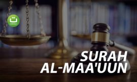 Surah Al-Maa'uun سورة الماعون – Abu Usamah Syamsul Hadi