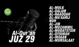 Al-Qur'an Juz 29 Full l Beautiful Quran Recitation