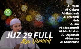 Al-Qur'an Juz 29 Full – Abu Usamah Syamsul Hadi