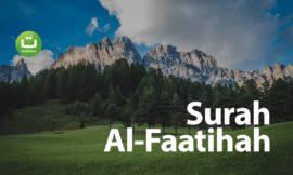 Surah Al Faatihah – Zain Abu Kautsar