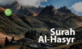 Surah Al Hasyr – Hani Ar-Rifa'i