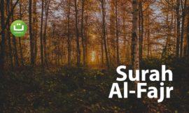 Tadabbur Surah Al Fajr – Zain Abu Kautsar