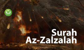 Tadabbur Surah Az Zalzalah – Fahad Aziz Niazi