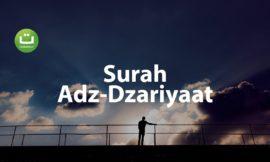Tadabbur Surah Adz-Dzariyaat – Hani Ar-Rifa'i