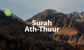 Surah Ath Thuur – Mansur Al Salimi ᴴᴰ