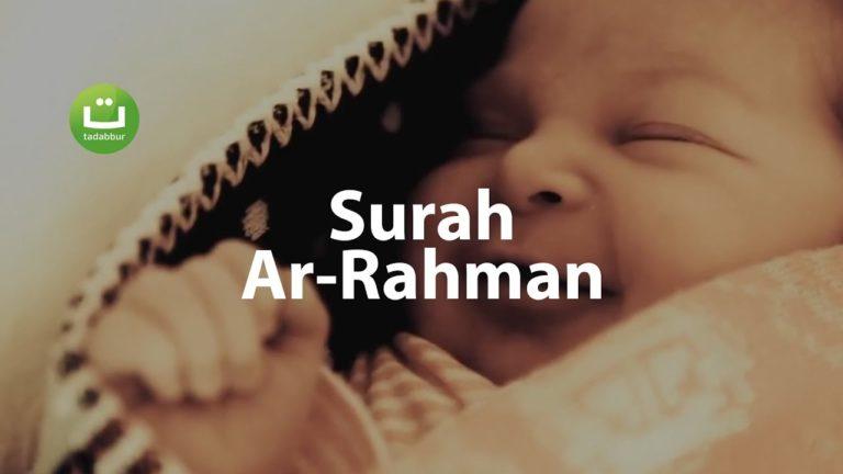 Surah Ar Rahman Merdu dan Menenangkan – Ustadz Ubaidillah Shaleh Al-Bugizy ᴴᴰ
