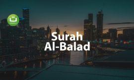 Tadabbur Surah Al Balad Merdu – Salah Mussaly ᴴᴰ