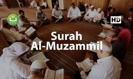 Surah Al Muzammil Merdu – Salah Mussaly ᴴᴰ