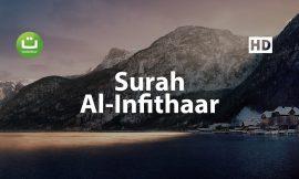 Surah Al Infithaar Beautiful Quran Recitation – Siratulla Raupov ᴴᴰ