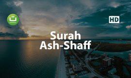 Tadabbur Surah Ash Shaff – Mishari Rasyid Al-Afasy ᴴᴰ