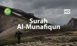 Tadabbur Surah Al Munafiqun – Mishari Rasyid Al-Afasy ᴴᴰ