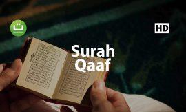 Surah Qaaf I Islam sobhi l Beautiful Recitation ᴴᴰ