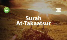 Surah At Takaatsur (Berlomba-lomba membanggakan kekayaan)